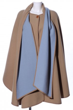 Yarell Cape braun-blau Casual-Look