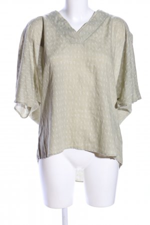 Yargici Oversized Shirt khaki grafisches Muster Casual-Look