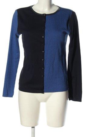 Yargici Veste chemise bleu-noir style décontracté