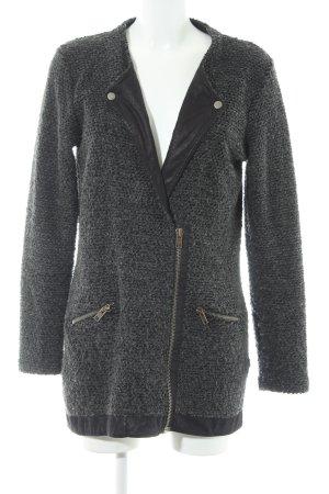 YAS Cardigan grigio scuro-nero stile casual