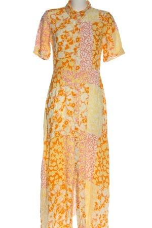 YAS Koszulowa sukienka Na całej powierzchni W stylu casual