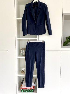 YAS Traje de pantalón azul oscuro