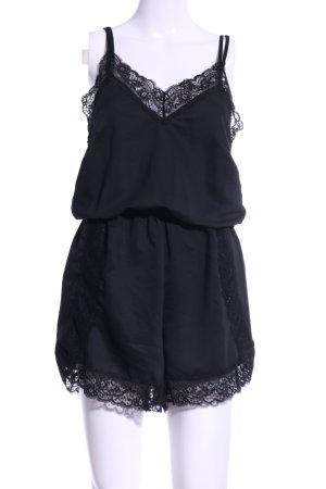 YAS Jumpsuit schwarz Elegant