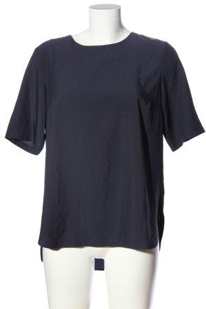 YAS Kurzarm-Bluse blau Casual-Look