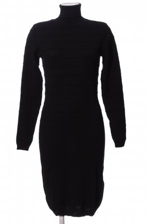 YAS Langarmkleid schwarz Business-Look