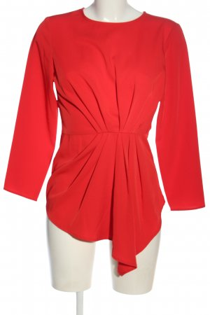 YAS Camicetta lunga rosso stile casual