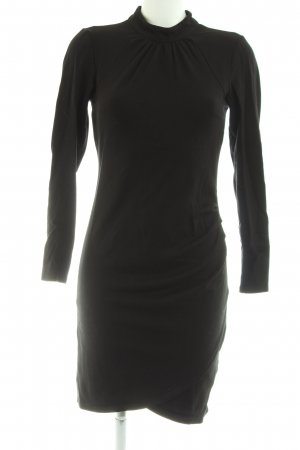 YAS Midikleid schwarz Business-Look