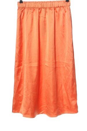 YAS Gonna midi arancione chiaro stile casual