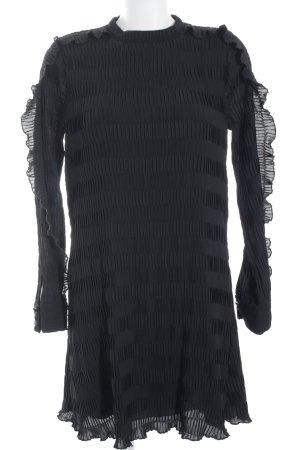 YAS Minikleid schwarz Elegant