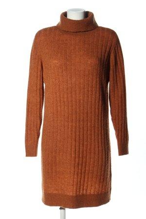 YAS Pulloverkleid braun Casual-Look