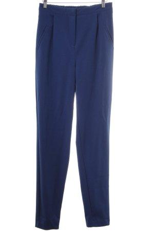 YAS Pantalone jersey blu acciaio stile casual