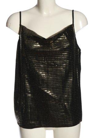 YAS Strappy Top black-bronze-colored elegant