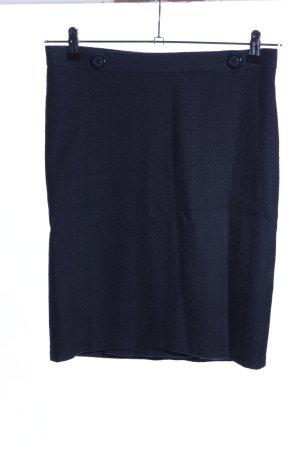 Yasue Carter Falda cruzada azul look casual