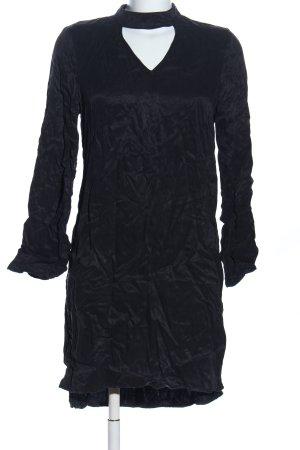 Yaya A-Linien Kleid schwarz Casual-Look