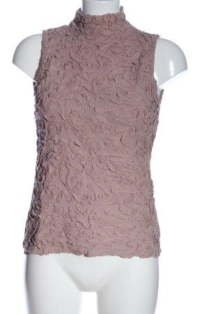 Yaya ärmellose Bluse pink Casual-Look