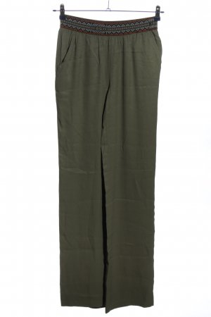 Yaya Baggy Pants khaki Street-Fashion-Look