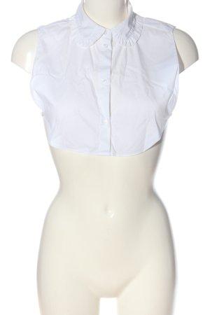 Yaya Colletto camicia bianco stile classico
