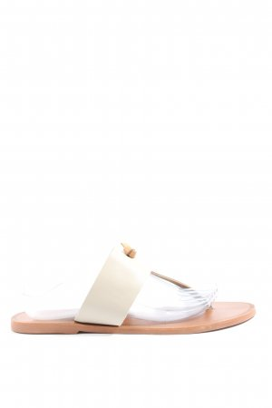 Yaya Flip-Flop Sandals natural white casual look