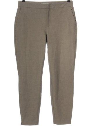 Yaya Pantalon chinos brun style décontracté