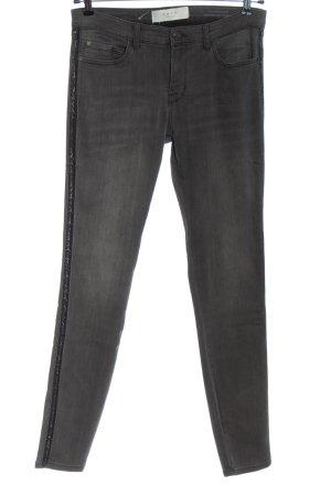 Yaya Jeans a vita alta grigio chiaro stile casual
