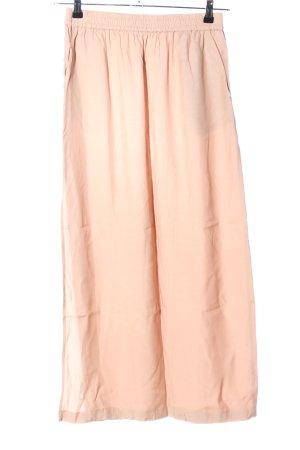 Yaya High Waist Skirt cream casual look