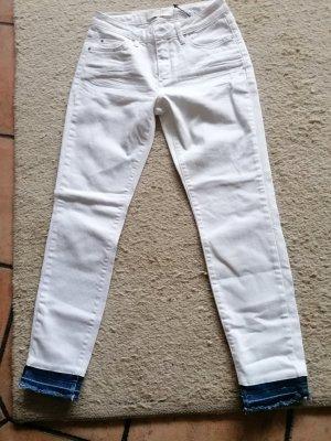 Yaya Jeans elasticizzati bianco