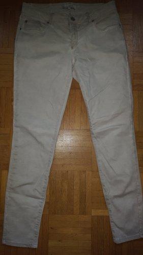 yaya Jeans creme beige washed Gr.36