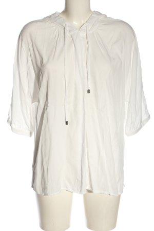 Yaya Camicia con cappuccio bianco sporco stile casual
