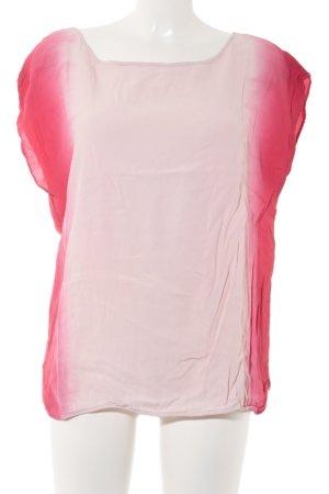Yaya Kurzarm-Bluse Farbverlauf Casual-Look