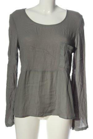 Yaya Long Sleeve Blouse light grey casual look