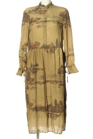Yaya Midi Dress brown casual look