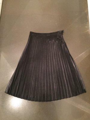 Yaya Pleated Skirt black