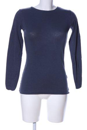 Yaya Crewneck Sweater blue casual look
