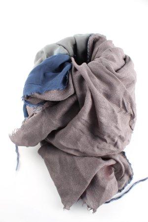 Yaya Sommerschal wollweiß-blau Casual-Look