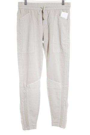 Yaya Pantalone jersey beige stile casual