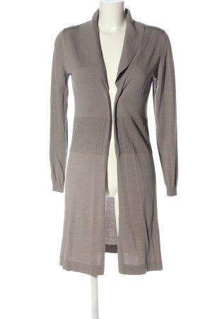 Yaya Cappotto a maglia grigio chiaro stile casual