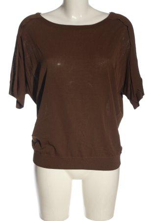 Yaya Camicia maglia marrone stile casual