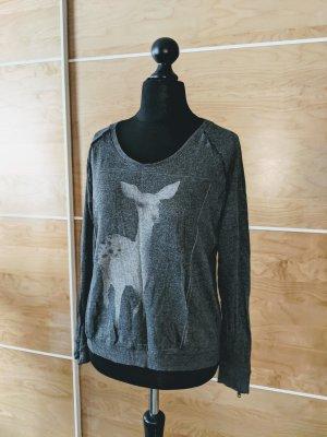 Yaya Sweater Bambi Reh grau Viskose Größe XXL