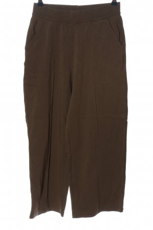 Yaya Sweat Pants brown cable stitch casual look