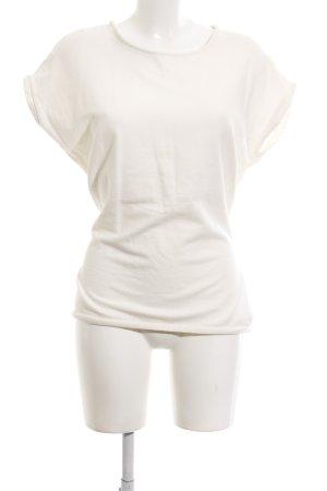 Yaya Sweatshirt blanc style décontracté