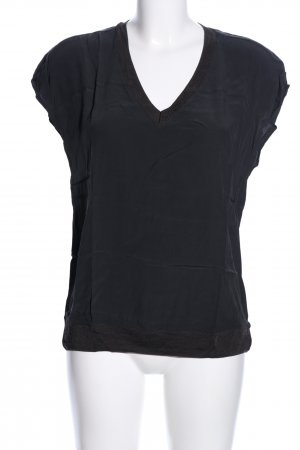 Yaya V-Neck Shirt black casual look