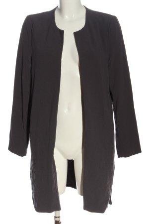 yaya women Krótki płaszcz jasnoszary W stylu biznesowym