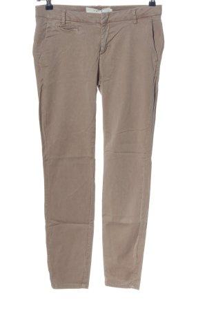 YAYAWoman Five-Pocket-Hose braun Casual-Look