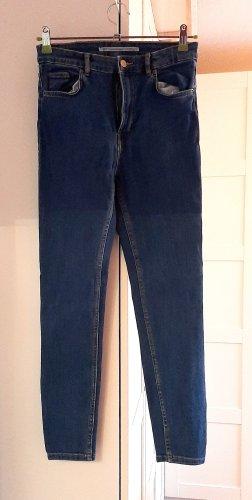 YEAH!!!Neuwertige High-Waist Jeans von Zara, blau, Gr. 38