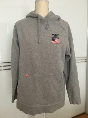 Kream Capuchon sweater grijs