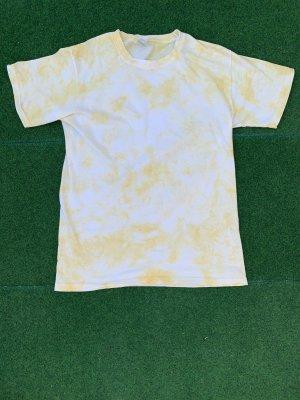 Batik Shirt yellow-white