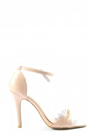 Yes High Heel Sandaletten pink Casual-Look