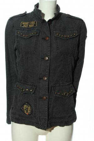 Yes! Miss Jeansjacke hellgrau Casual-Look