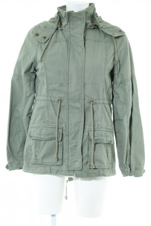 YES OR NO Parka vert style décontracté