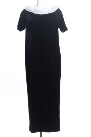 Yessadress Abendkleid schwarz-weiß Elegant